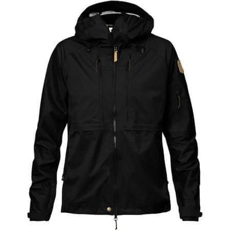 Fjällräven Keb Eco-Shell Jacket W, fekete, l