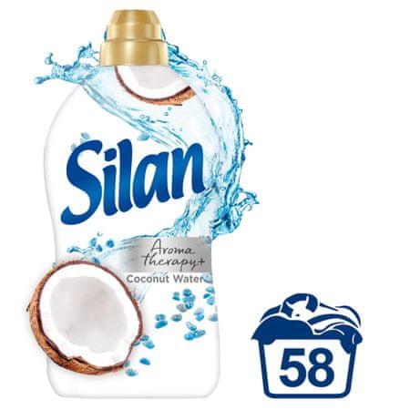 Silan Coconut Water Scent & Minerals mehčalec za perilo, 1450 ml