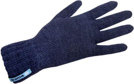 Kama Unisex kötött Merino kesztyű R102, M, kék