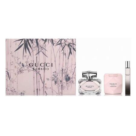 Gucci Bamboo parfumska voda, 75 ml + 7,4 ml + losjon za telo, 100 ml