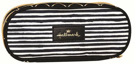 Back Me Up Hallmark Stripes peresnica, ovalna
