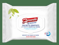 Zanzarella Z-ochranné obrúsky proti komárom s hydratačným účinkom, 15 ks