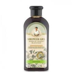 Babička Agafia Hydratační sprchový gel na bázi černého mýdla Agafia, 350 ml