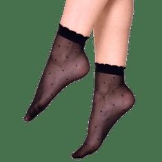 Andrea Bucci dámske silonkové ponožky Polka Dot Ankle High 03/05139