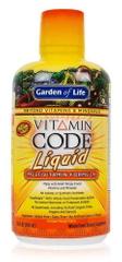 Garden of Life Vitamin Code RAW Tekutý multivitamín 900 ml