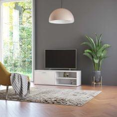 Vidaxl TV stolek bílý 120 x 34 x 37 cm dřevotříska