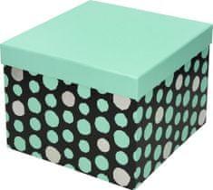 Creative škatla BBP Dots, darilna, 16 x 16 x 13 cm