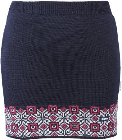 Kama Női Merinó gyapjú szoknya 6004 XL kék
