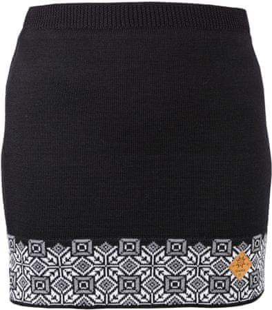 Kama Női Merinó gyapjú szoknya 6004 XL fekete