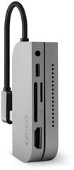 EPICO koncentrator USB Type-C (dla Apple iPad Pro), szary