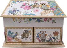 Creative škatla za nakit Sova, 18 x 10 x 10 cm
