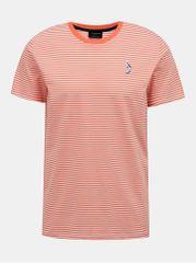 Selected Homme červené pruhované tričko Wayne