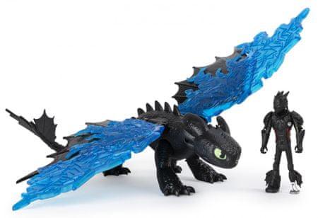 Spin Master Dragon 3 zmaj in viking kolcanje in brezzoben