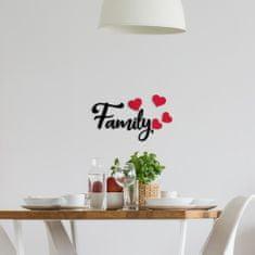 Crearreda zidna dekoracija od mekane gume S Foam, Family