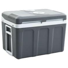 shumee Přenosný termoelektrický chladicí box 45 l 12 V 230 V A++