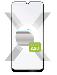 Fixed Ochranné tvrdené sklo Full-Cover pre Samsung Galaxy M21, lepenie cez celý displej, čierne FIXGFA-537-BK