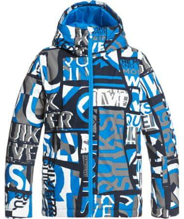 Quiksilver Fiú kabát Mission Pt Yth B Snjt Bnl3, L, kék