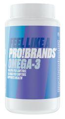 ProBrands Omega 3 Rybí Olej 1000mg 120kapslí