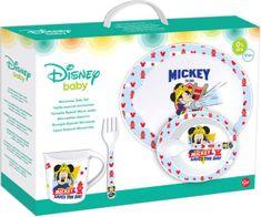 Stor Jídelní sada Mickey Baby 5ks