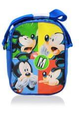 SETINO Chlapecká kapsička přes rameno Mickey mouse - modrá