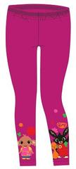 SETINO Dievčenské legíny Zajačik Bing - tmavo ružová
