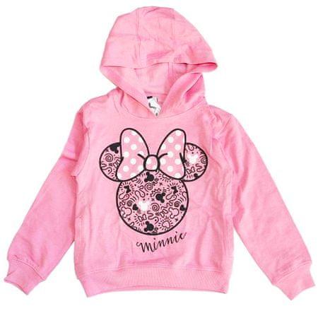 """SETINO Lány pulóver """"Minnie egér"""" - világos rózsaszín - 122–128 / 7–8 év"""