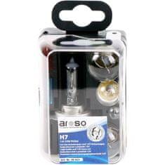 Aroso Autožárovky - servisní krabička Uni H7 / pojistky