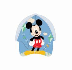 SETINO Detská šiltovka BABY Mickey mouse - svetlo modrá