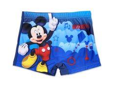 """SETINO Chlapčenské plavky boxerky """"Mickey Mouse"""" - tmavo modrá"""