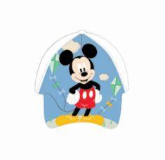 """SETINO Fiú sapkája BABY """"Mickey egér"""" - fehér"""
