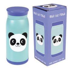 Rex London Modrá nerezová láhev s pandou Miko The Panda