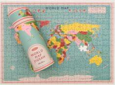 Rex London Puzzle s motivem světa