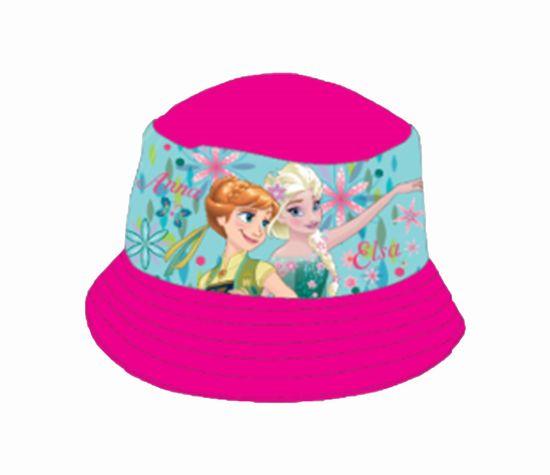 """SETINO Dívčí klobouk """"Ledové království"""" - růžová - 54 cm"""