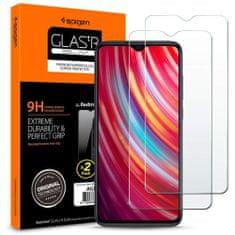 Spigen Glas.Tr Slim ochranné sklo 2-pack na Xiaomi Redmi Note 8 Pro