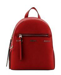 Hampton plecak damski Aba 18H1277 czerwony