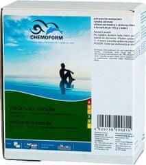 Chemoform Vločkovacie kartuše do pieskovej filtrácie