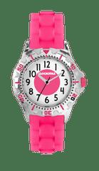 CLOCKODILE Svítící růžové sportovní dívčí hodinky CLOCKODILE SPORT 3.0