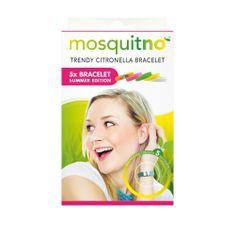 MosquitNo Náramky s citronelou Summer pack (5 ks)