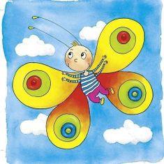 Goki Motýľ - vývojové vrstvené puzzle
