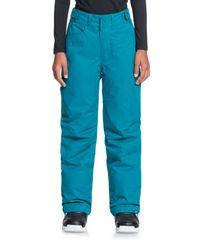 Roxy Dívčí snowboardové/lyžařské kalhoty Backyardgirl Pt G Snpt Brv0