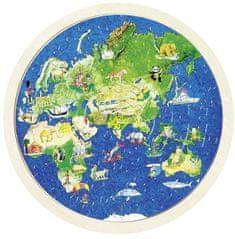 Goki Obojstranné puzzle - Zemeguľa