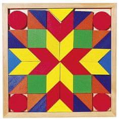 Goki Drevený hlavolam - Mozaika II