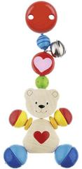 Goki zabawka z klipsem - niedźwiadek