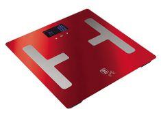 Berlingerhaus Osobní váha Smart s tělesnou analýzou 150 kg Burgundy Metallic Line