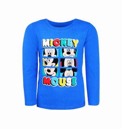 """SETINO Fantovska majica z dolgimi rokavi """"Mickey Mouse"""" - svetlo modra - 92–98 / 2–3 leta"""