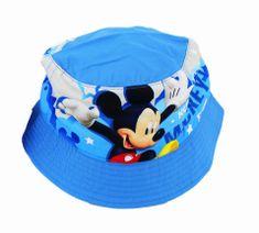 """SETINO Chlapecký klobouk """"Mickey mouse"""" - světle modrá"""