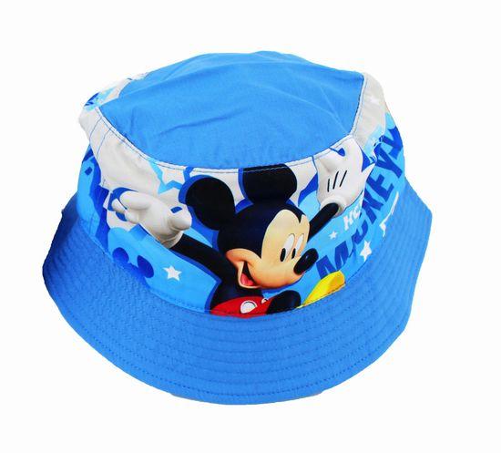 """SETINO Chlapecký klobouk """"Mickey mouse"""" - světle modrá - 54 cm"""