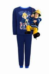 """SETINO Chlapecké bavlněné pyžamo """"Požárník Sam Team"""" - tmavě modrá"""