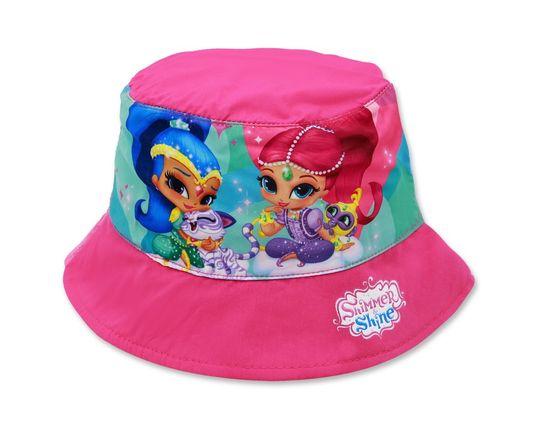 """SETINO Dívčí klobouk """"Shimmer and Shine"""" - růžová - 54 cm"""