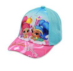 """SETINO Dziewczęca czapka z daszkiem """"Shimmer i Shine"""" - turkus"""